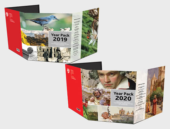 FREE Year Pack 2019 when you buy Year Pack 2020 - Collectibles