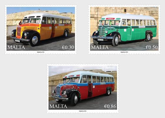 Maltese Buses - Set