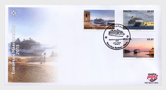 European Maritime Day - First Day Cover