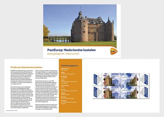 Europa 2017 - Castles - Stamp Booklet
