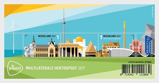 Multilateral Duke Post - Miniature Sheet