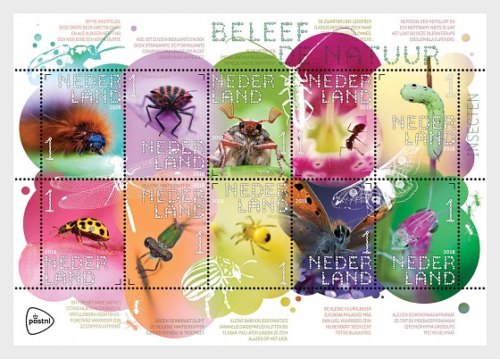 Experience Nature - Insects - Miniature Sheet