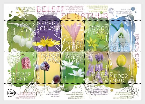 Experience Nature - Stinzen Plants - Miniature Sheet
