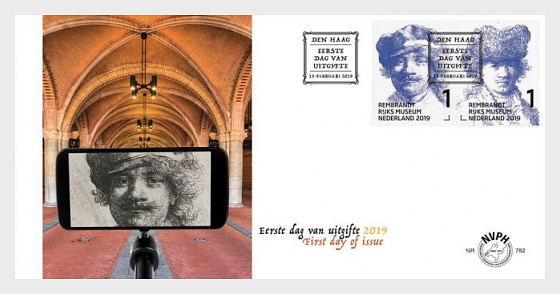 Rembrandt - First Day Cover