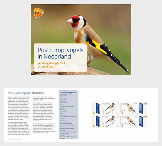 Europa 2019 - Birds in the Netherlands - Presentation Pack