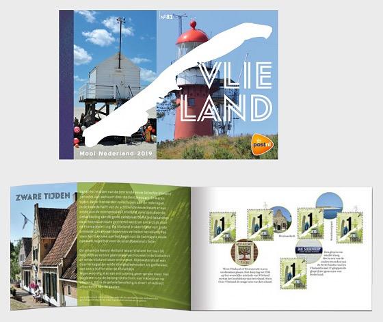 Beautiful Netherlands 2019 - Vlieland - Stamp Booklet