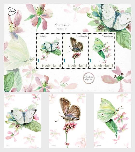 Dutch Butterflies - Collectibles