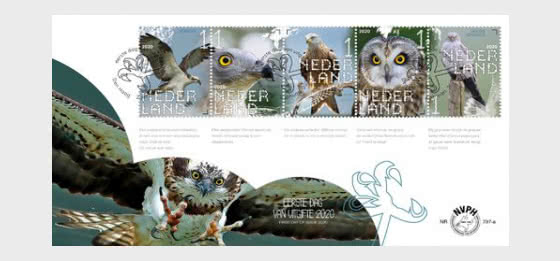 Experience Nature - Birds of Prey and Owls  - First Day Cover