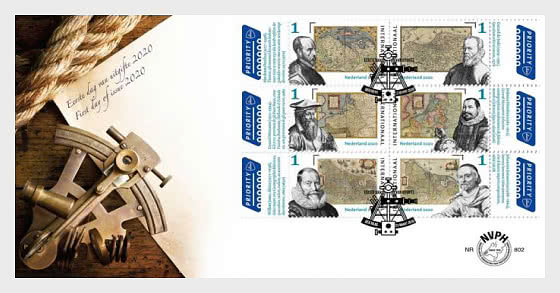 The First Atlases - First Day Cover