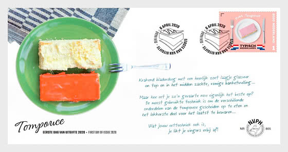 Typically Dutch - Tompouce - First Day Cover