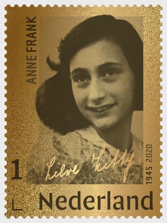 Golden Stamp - Anne Frank 1945-2020 - Collectibles