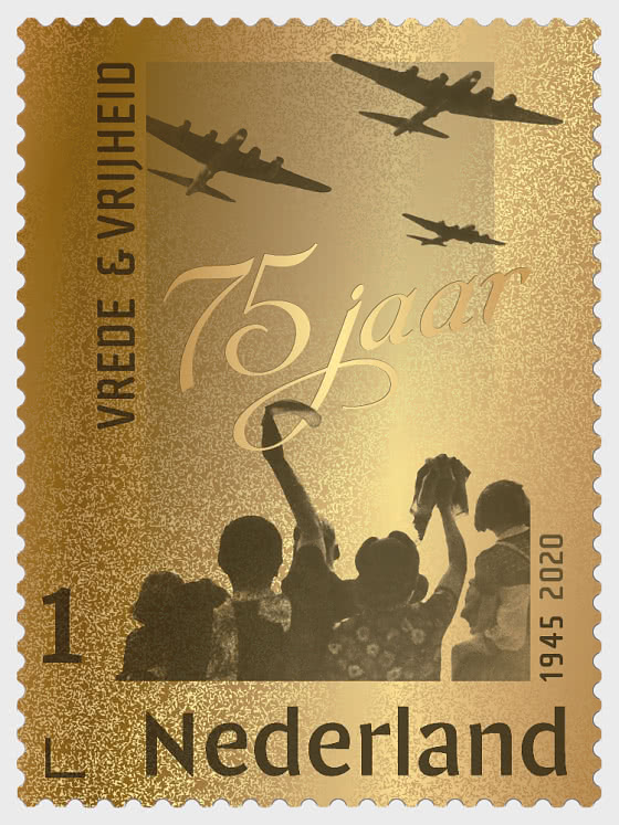 Golden Stamp - Peace & Freedom 1945-2020 - Collectibles