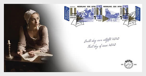Europa 2020 - Old Postal Routes - First Day Cover