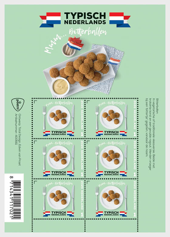Típicamente Holandesa - Bitterballen - Mini Hojas