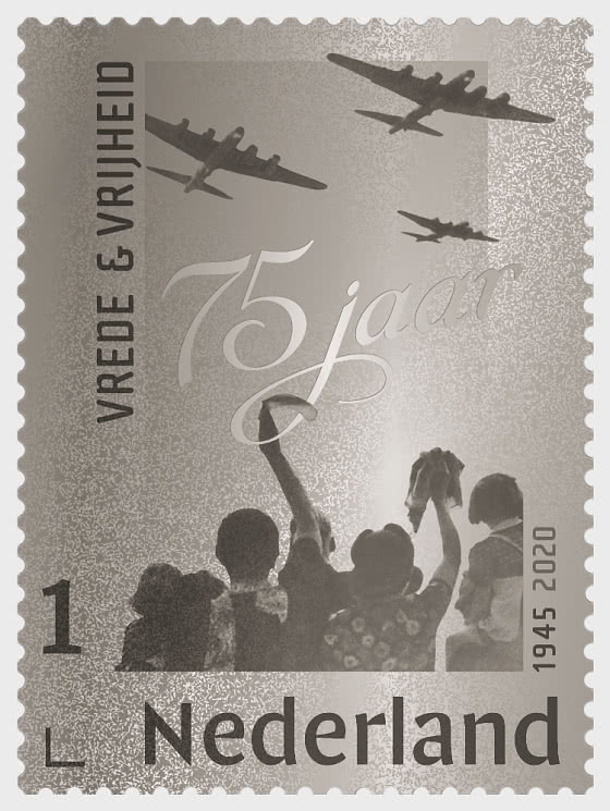 Timbro D'argento - Pace e libertà 1945-2020 - Collezionabile