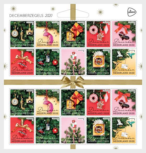 Francobolli di Dicembre 2020 - Minifogli