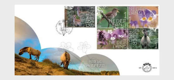 Experience Nature - Duin en Kruidberg  - 828b - First Day Cover