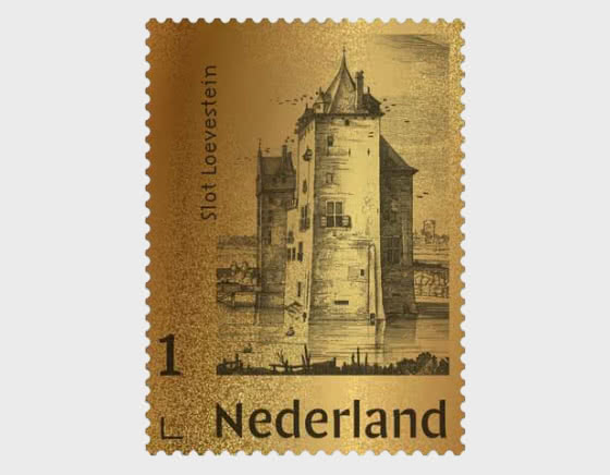 Gold Stamp - Slot Loevestein - Collectibles