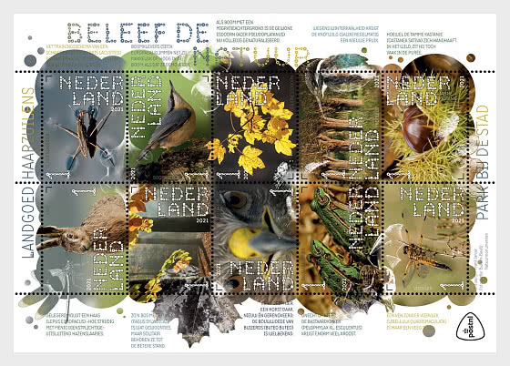 Experience Nature - Haarzuilens Country Estate - Miniature Sheet