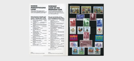 Year Set 1984 (Catalogue Price) - Annual Product