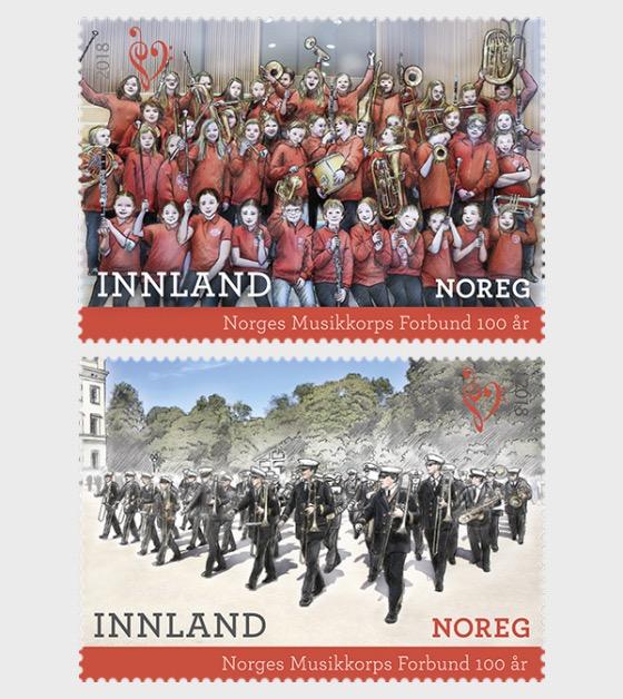Norwegian Marching Band Association Centenary - Set