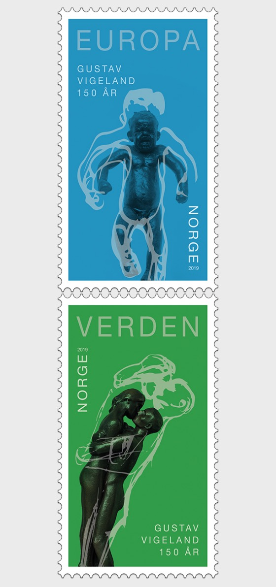 Gustav Vigeland 150th Anniversary - Set