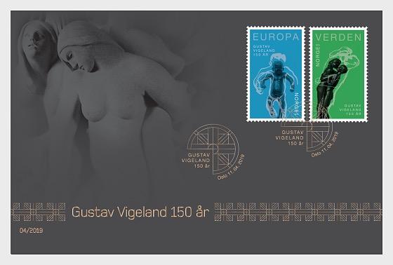 150ème Anniversaire de Gustav Vigeland - Collectable