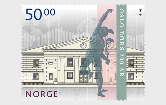Oslo Stock Exchange Bicentenary - Set