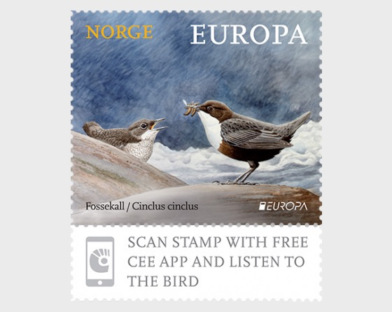 Europa 2019 - Norway's National Bird - Set
