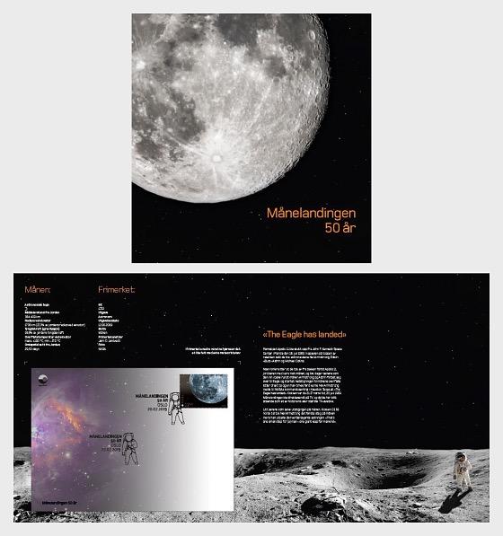 50ème Anniversaire du Débarquement de la Lune - Collection spéciale