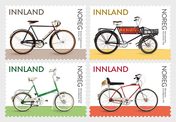 Norwegian Bicycles - Set