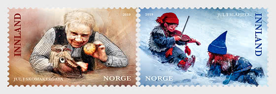 Christmas Stamps 2019 - Set