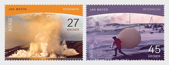 Polare Motive - Jan Mayen Insel - Serie