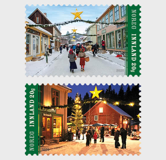 圣诞邮票2020 - 套票