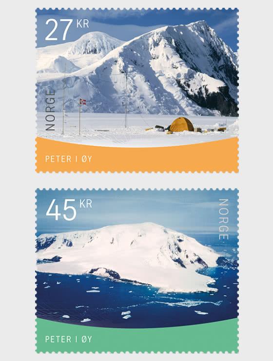 Polar Motifs - Peter I Island - Set
