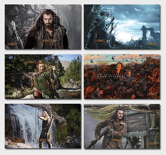 El Hobbit - La desolación de Smaug - Hojas Bloque