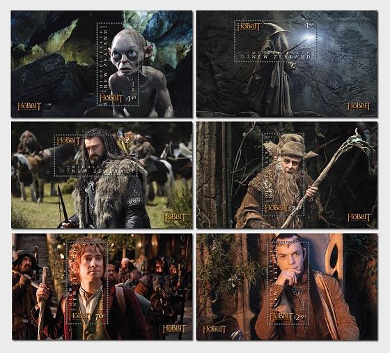 El hobbit - un viaje inesperado - Hojas Bloque