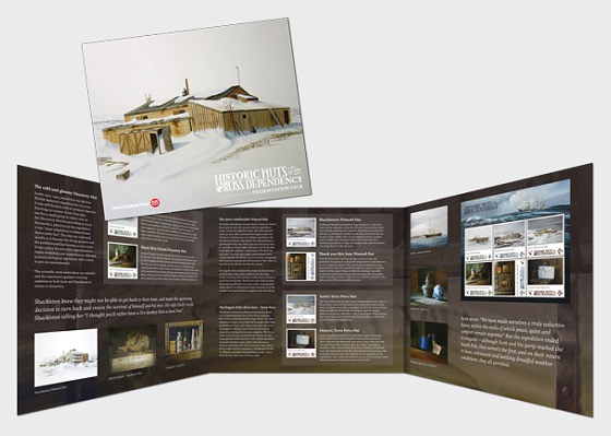 2017 Historic Huts of the Ross Dependency Presentation Pack - Presentation Pack