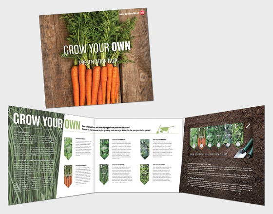 2017 Grow your own - Sustainable New Zealand Non-seed Presentation Pack - Presentation Pack