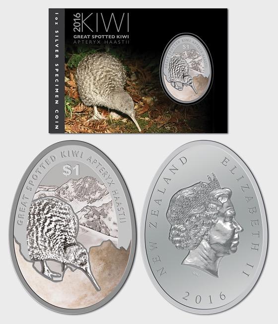 2016 Kiwi Silver Specimen Coin - Silver Coin