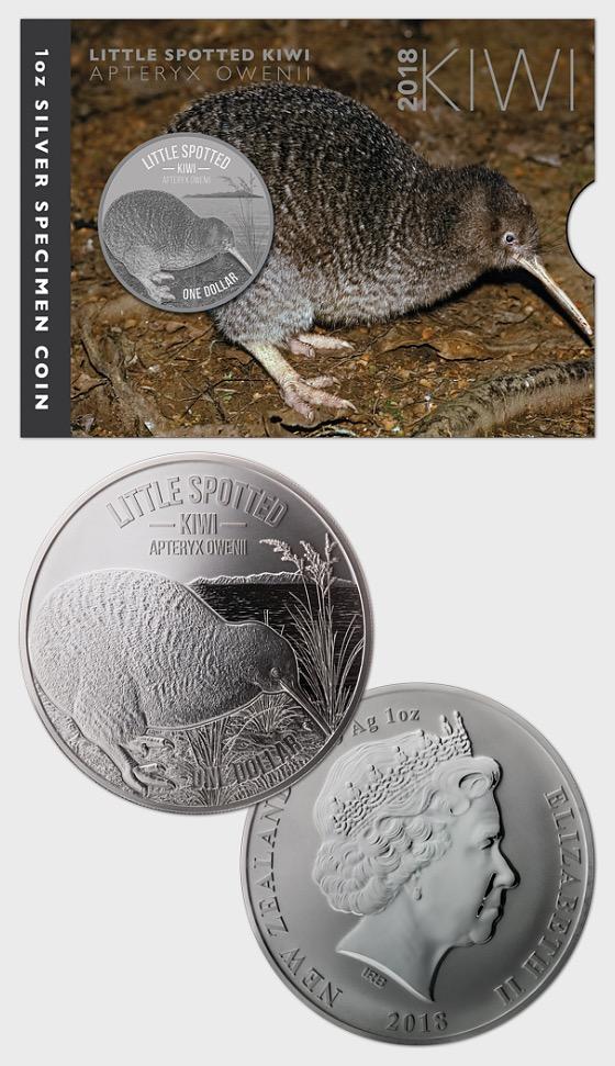 2018 Kiwi Silver Specimen Coin - Silver Coin