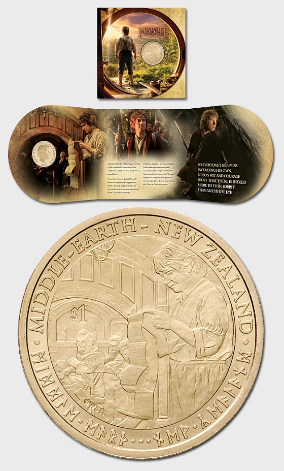 The Hobbit: An Unexpected Journey Brilliant Uncirculated Coin - Single Coin