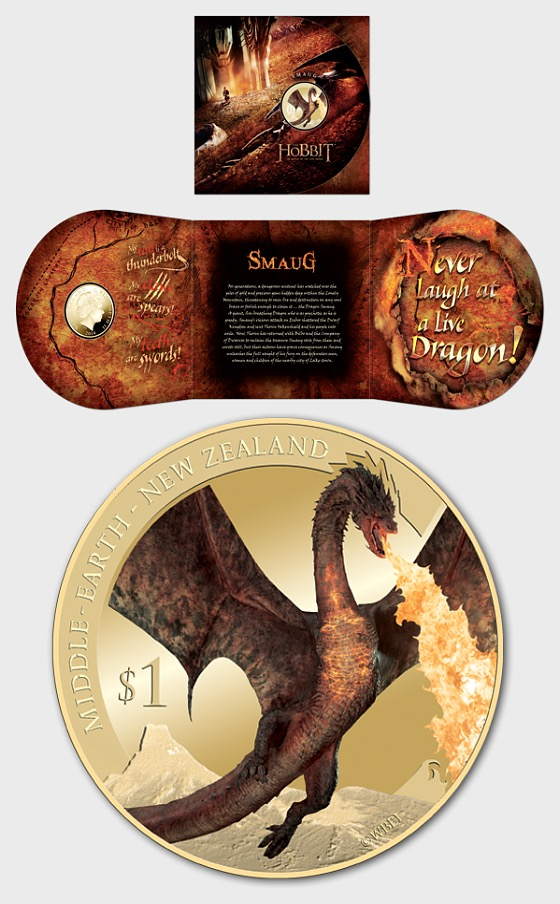 The Hobbit: The Battle of the Five Armies Brilliant Uncirculated Coin - Single Coin