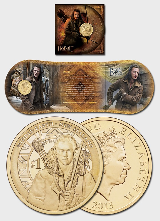 The Hobbit: The Desolation of Smaug Brilliant Uncirculated Coin - Single Coin