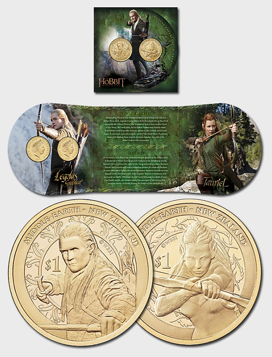 The Hobbit: The Desolation of Smaug Brilliant Uncirculated Coin Set - Single Coin