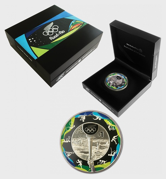 2016 Road to Rio Silver Proof Coin - Silver Coin
