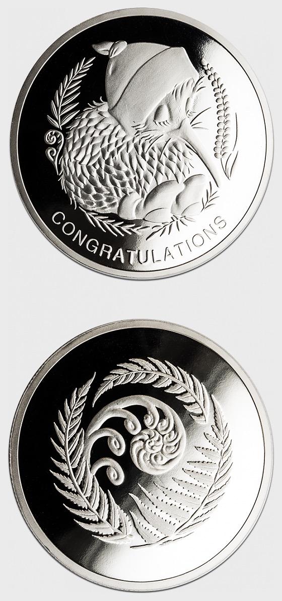 2018 Baby Medallion - Medal