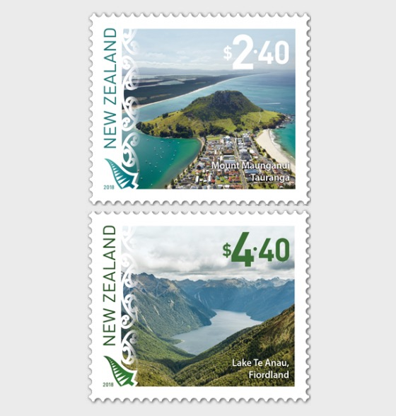 2018 Scenic Definitives Set of Mint Stamps - Set