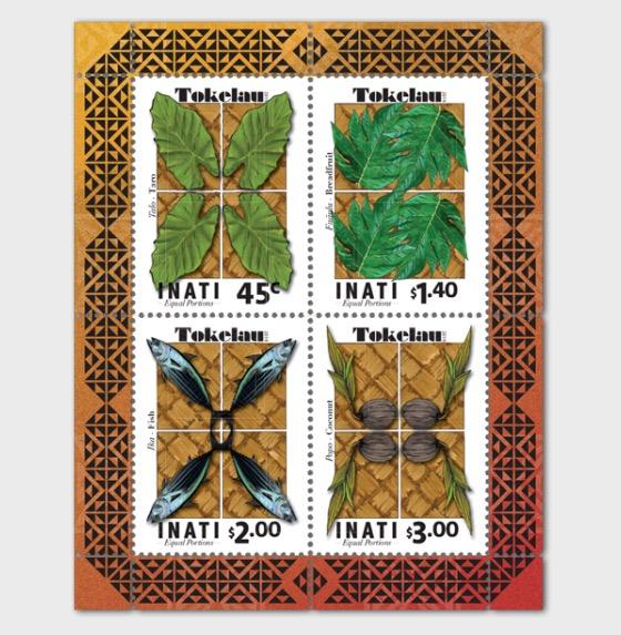 2019 Tokelau Inati - Equal Portions Mint Miniature Sheet - Miniature Sheet