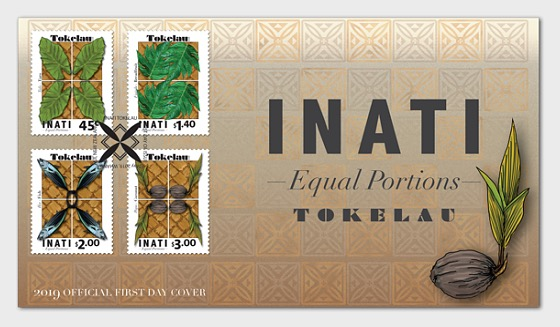 2019 Tokelau Inati - Equal Portions First Day Cover - First Day Cover